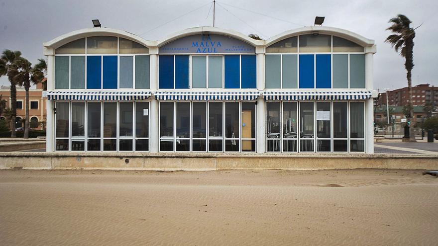 Una de las arrocerías del Paseo Marítimo solicita permiso a Costas para el derribo