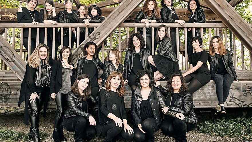 Integrantes de Sisters in the House.  | // CRIS ANDINA
