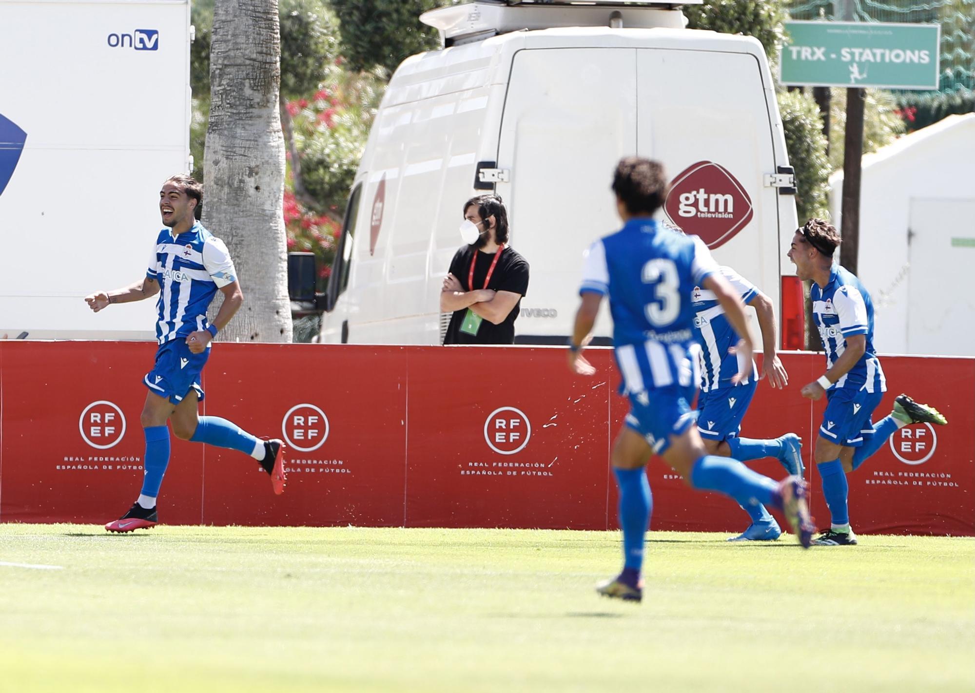 El Dépor le gana al Barcelona la final de la Copa de Campeones y es el mejor juvenil de España