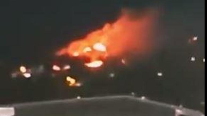 Incendio en El Atabal
