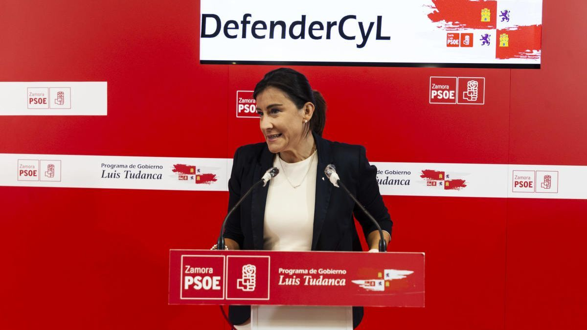 Ana Sánchez, procuradora del PSOE por Zamora.