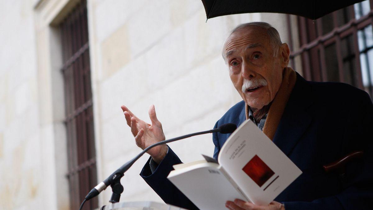 Hilario Tundidor, en uno de sus últimos actos en Zamora.