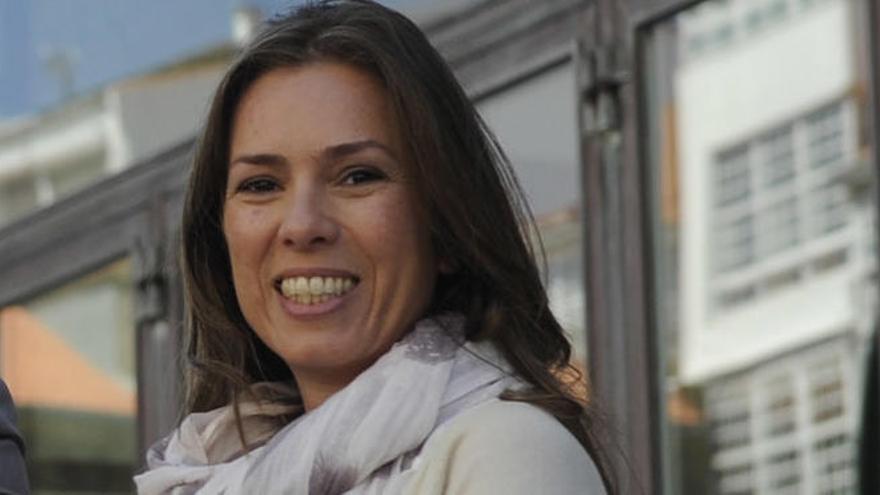 La periodista Mónica Martínez, posible candidata de Ciudadanos a la Alcaldía de A Coruña
