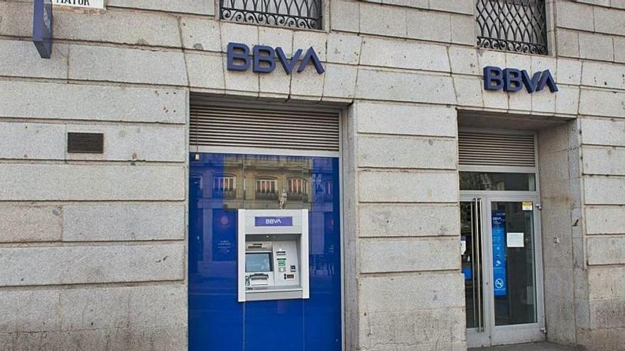 Sanció de 6 milions d'euros al BBVA per dues infraccions greus