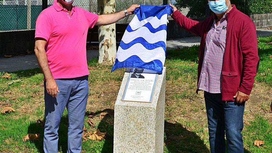 La nueva placa de Joe Novas inaugura los actos por el centenario de su nacimiento