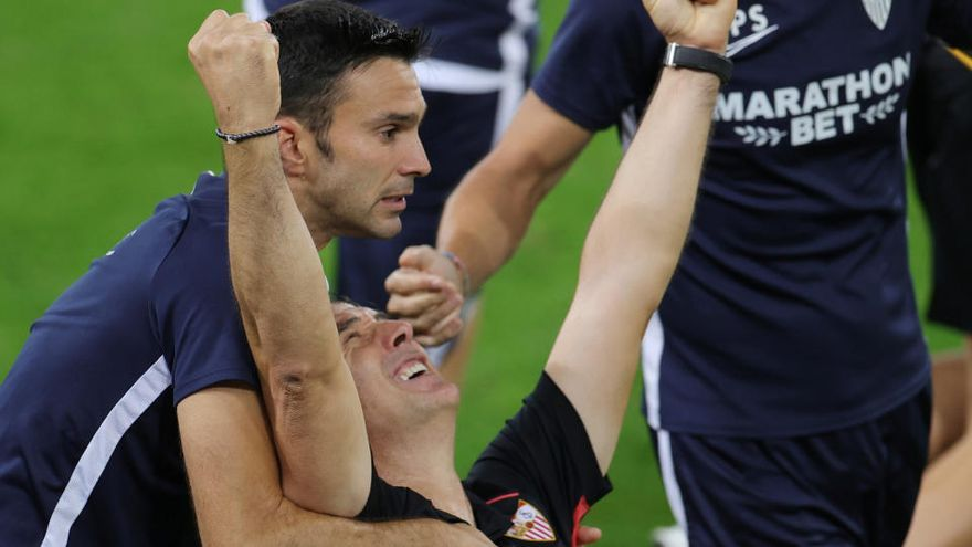 Lopetegui se corona en el Sevilla tras los golpes en la Selección y el Real Madrid