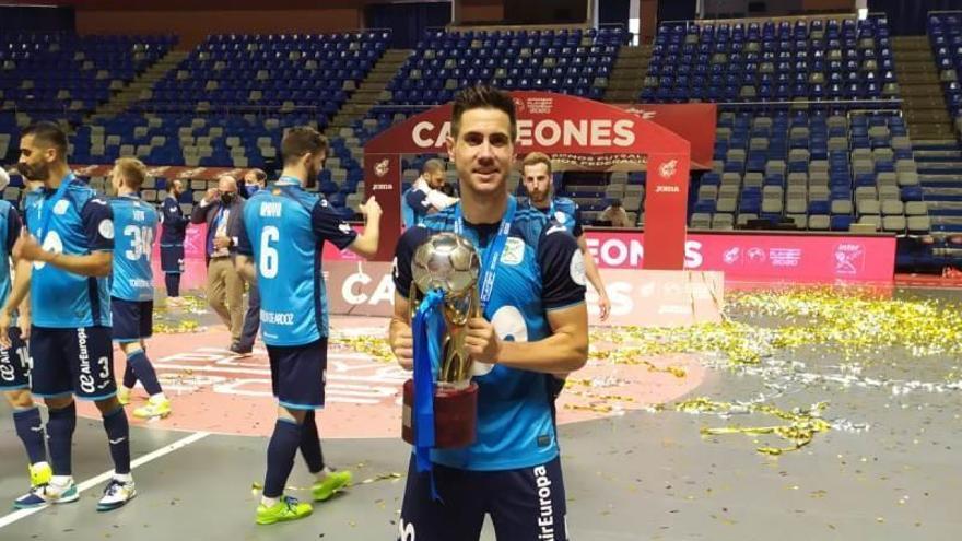 Bebe dice adiós al Movistar Inter con su segundo título liguero
