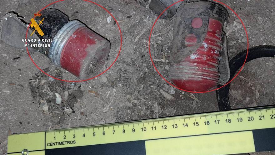 La Guardia Civil destruye dos granadas de mano en Morales de Toro