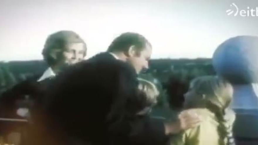 El antiguo vídeo familiar del Rey Emérito que se está viralizando