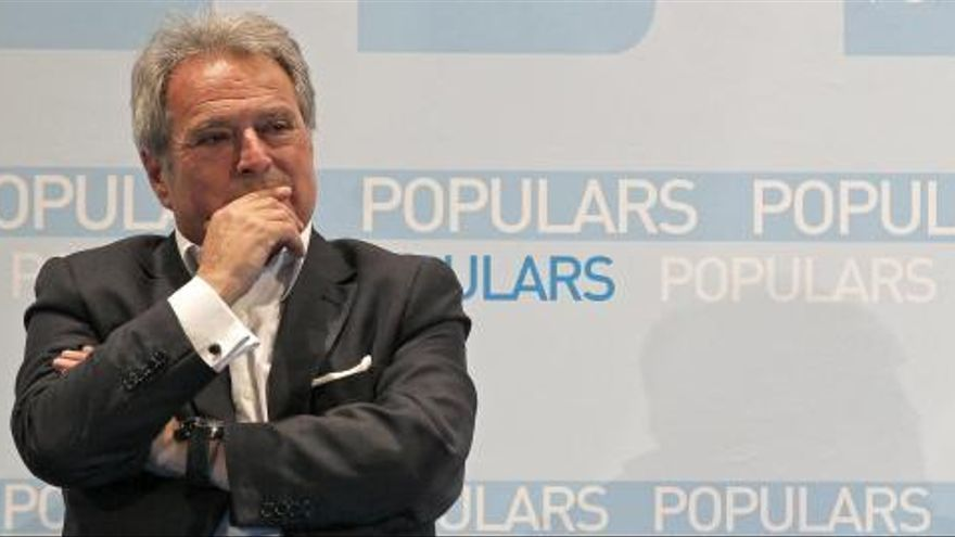 El Partido Popular suspende de militancia a Alfonso Rus