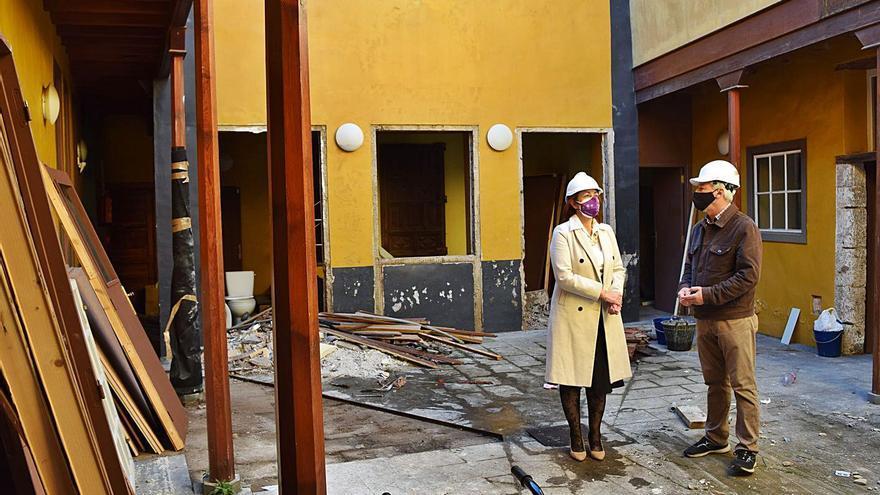 Comienza la rehabilitación de la Casa Anchieta, que costará 710.000 euros