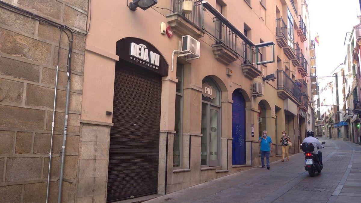 Exterior de la discoteca, que cerró al día siguiente de notificarse el brote.