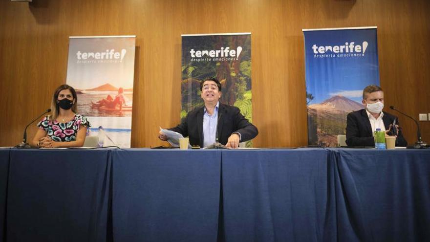 Presentación conexión aérea nueva Tenerife - Nueva York