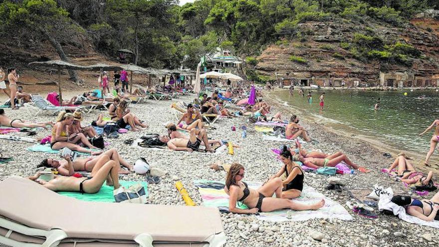 El gasto turístico en Ibiza y Formentera hasta julio fue 1.000 millones inferior al de 2019