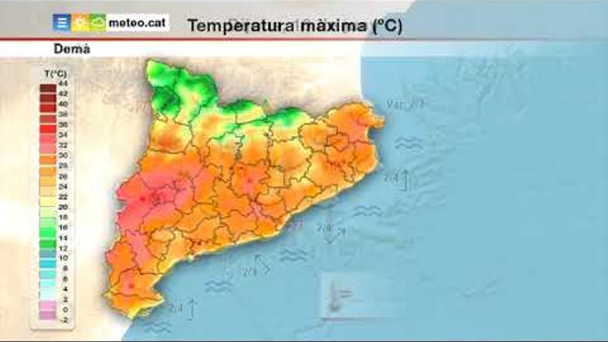 Matí assolellat i tarda amb risc de precipitacions al nord de Catalunya