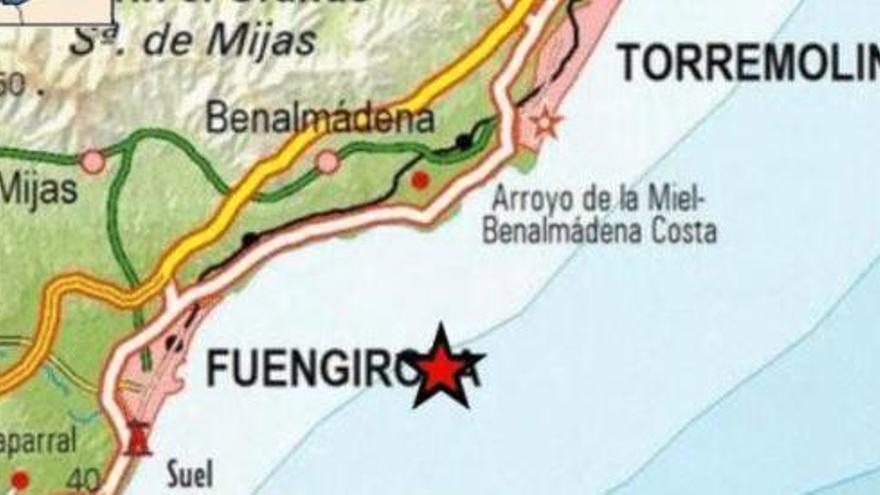 Registrado un terremoto de magnitud 4.1 frente a las costas de Málaga