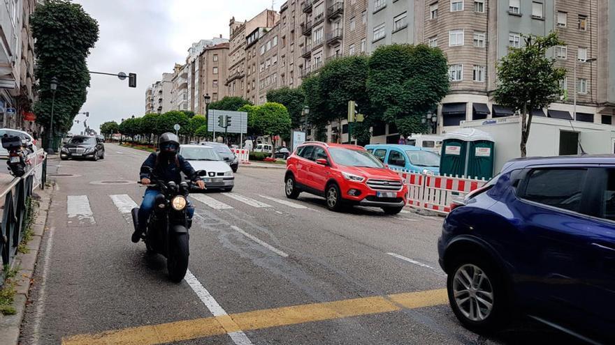 Aplazado una semana el corte de tráfico de la Gran Vía de Vigo