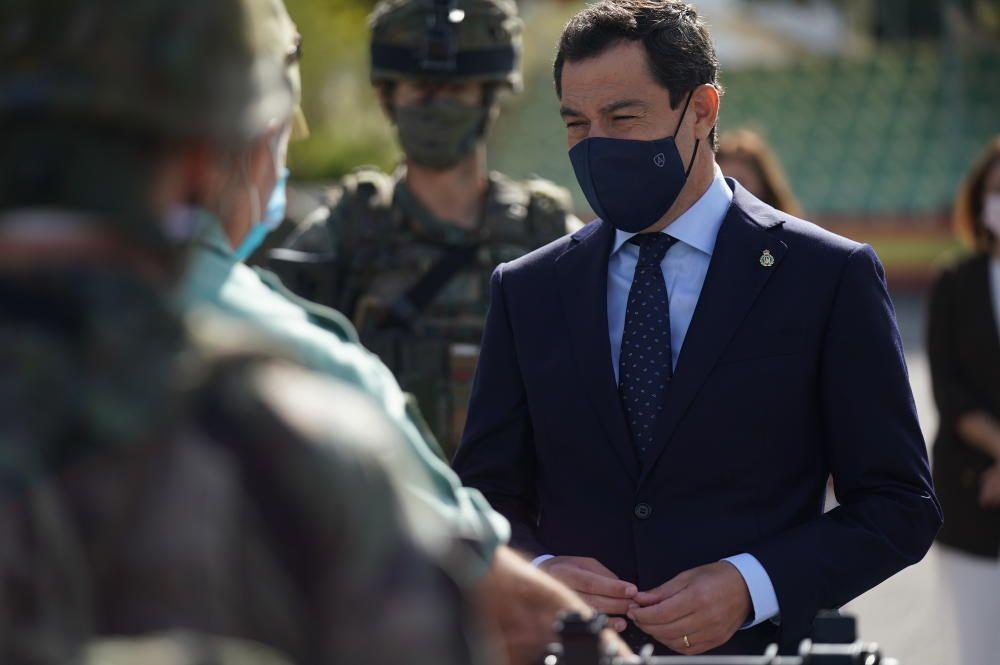 El presidente de la Junta de Andalucía, Juanma ...