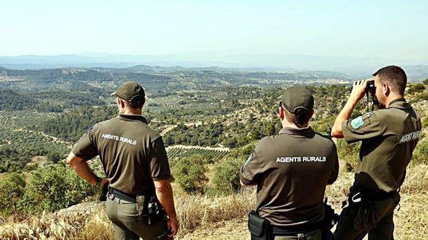 La Generalitat aprova el nou pla per a Agents Rurals que inclou l'ús d'armes