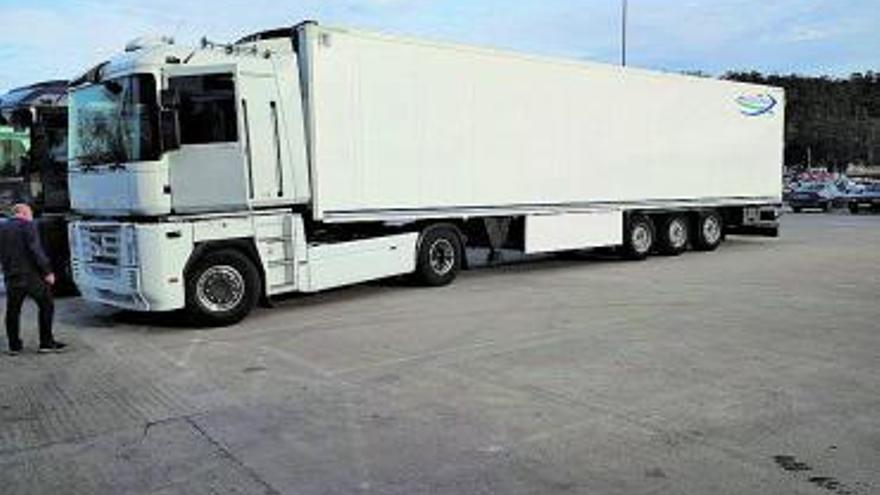 De camión de orquesta a transporte de lechugas