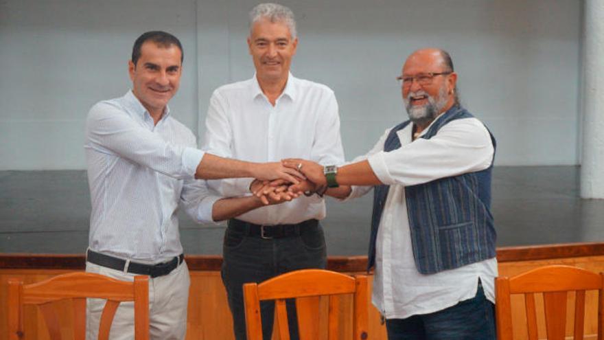 PSOE, Podemos y Lanzarote Avanza cierran en Tías el primer pacto en la isla
