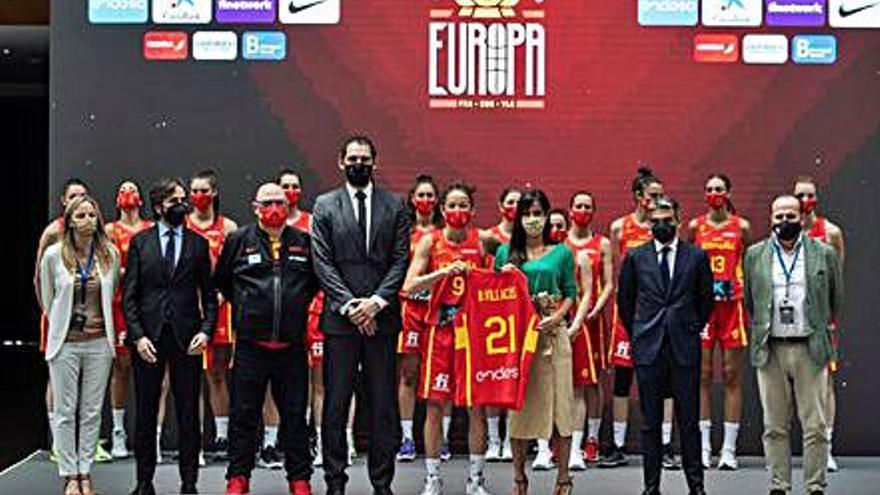 Laia Palau sobre la selecció espanyola abans de l'Eurobasket: «Som unes feres»
