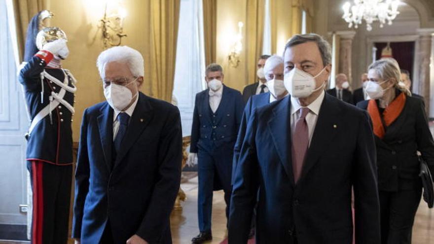Giuseppe Conte se despide del Gobierno de Italia y cede los poderes a Draghi