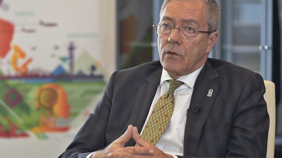 Rogelio Velasco, consejero de Transición Económica, Industria, Conocimiento y Universidades.