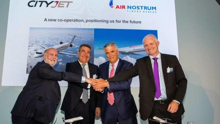 Air Nostrum da el salto internacional tras aliarse con la irlandesa CityJet