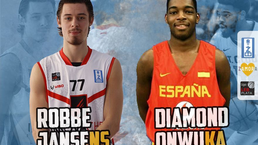 Robbe Jansens y Diamond Onwuka realizarán la pretemporada con el Zamora Enamora