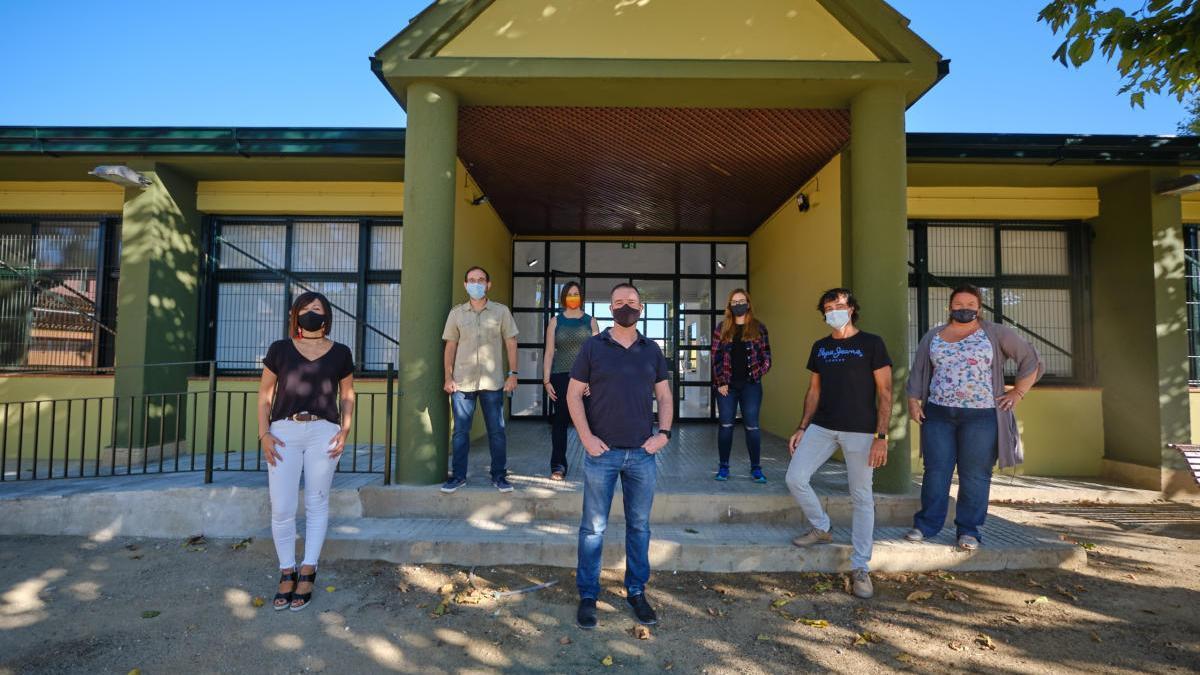 L'equip de professors del nou institut de Peralada.