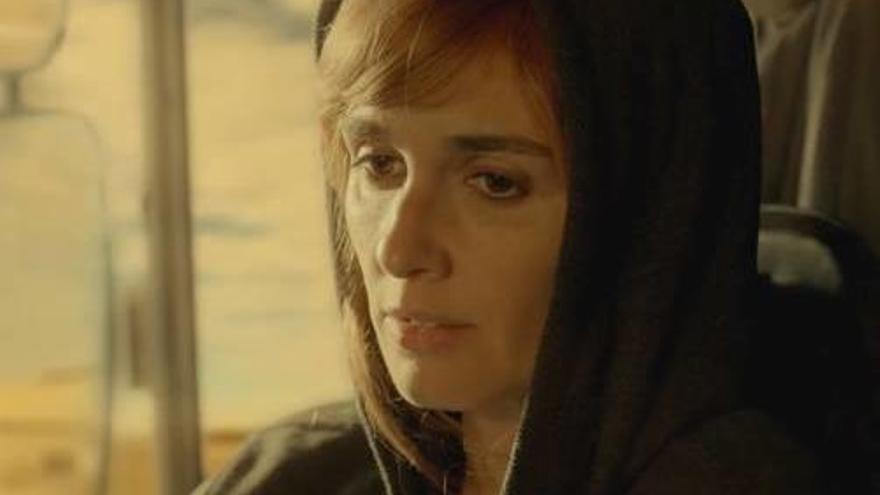 Paz Vega és la  protagonista  de la sèrie  «La fugitiva»,  aquesta nit a La 1