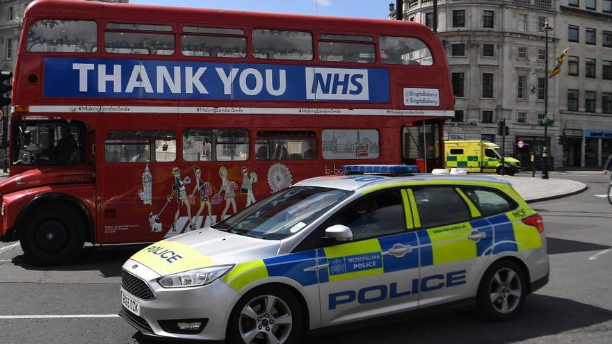 Reino Unido registra 739 nuevas muertes