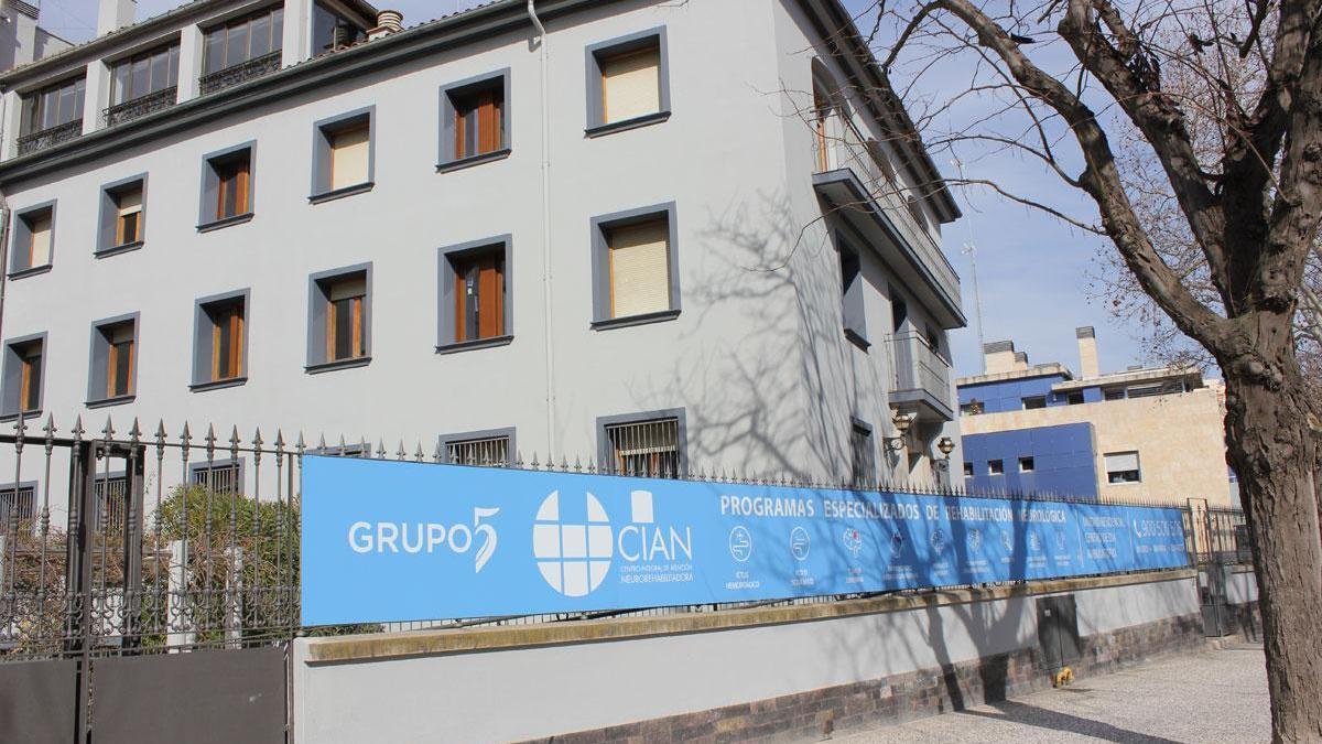 Grupo 5 CIAN. Un nuevo centro especializado en neurorrehabilitación en Zaragoza