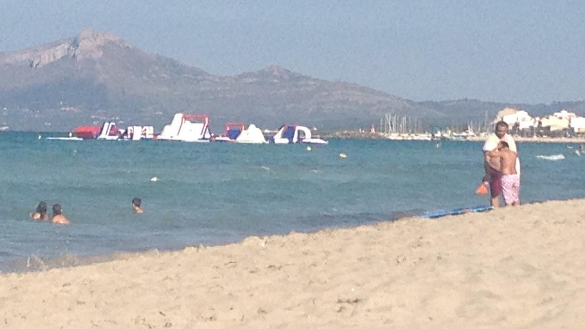 Playa de Can Picafort donde ha fallecido un anciano de 90 años