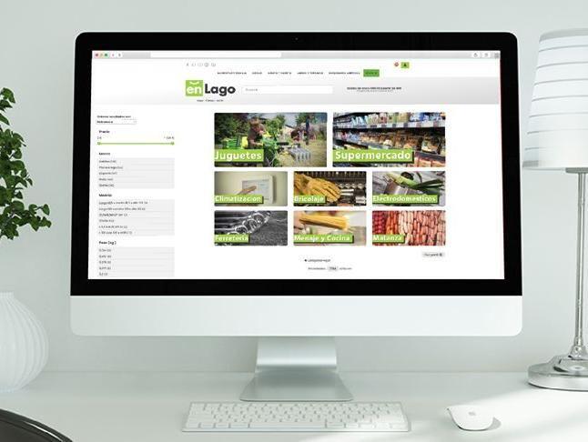 La nueva web de EnLago.