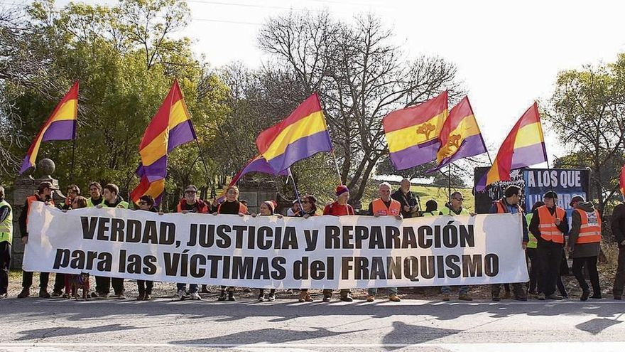 Concentración para que el Valle de los Caídos conmemore la lucha antifranquista