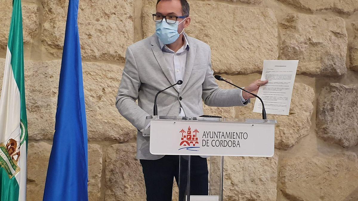 El concejal del grupo municipal Socialista José Antonio Romero, en una imagen de archivo.