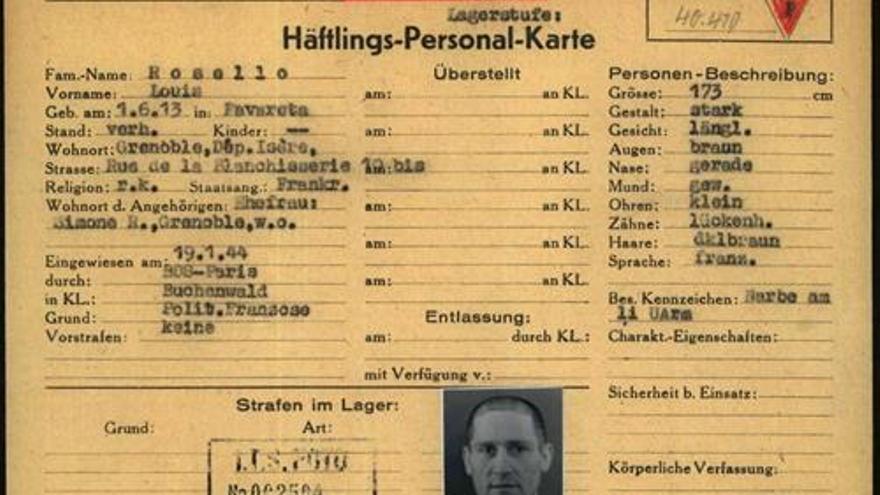 Buscan a los descendientes de cuatro valencianos deportados por los nazis