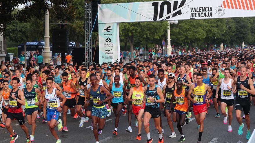 Ya hay fecha para el 10K Valencia Ibercaja 2022
