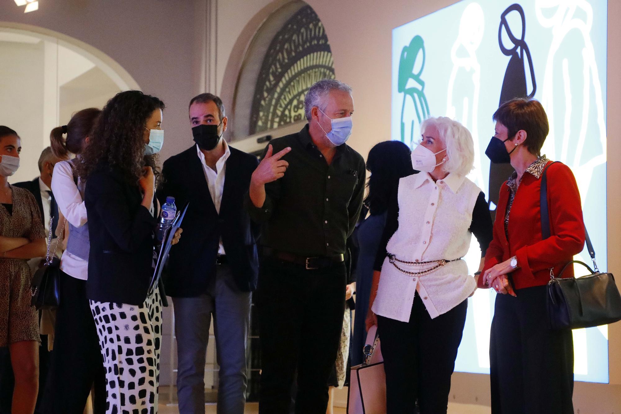 Las esculturas de Juan Opie toman València