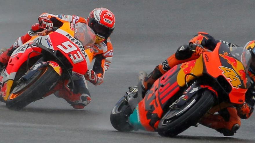 El mundial de MotoGP arrenca motors sota la nit de Qatar