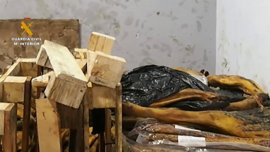 Intervenidos más de 63.000 envases de productos cárnicos ibéricos falsos