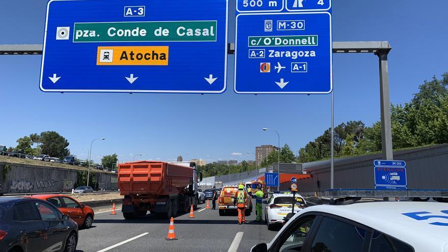 Mor un repartidor de Glovo després que la seva moto xoqués amb un cotxe a Madrid