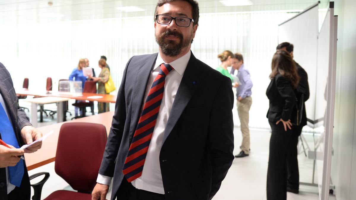 El magistrado Óscar González Prieto
