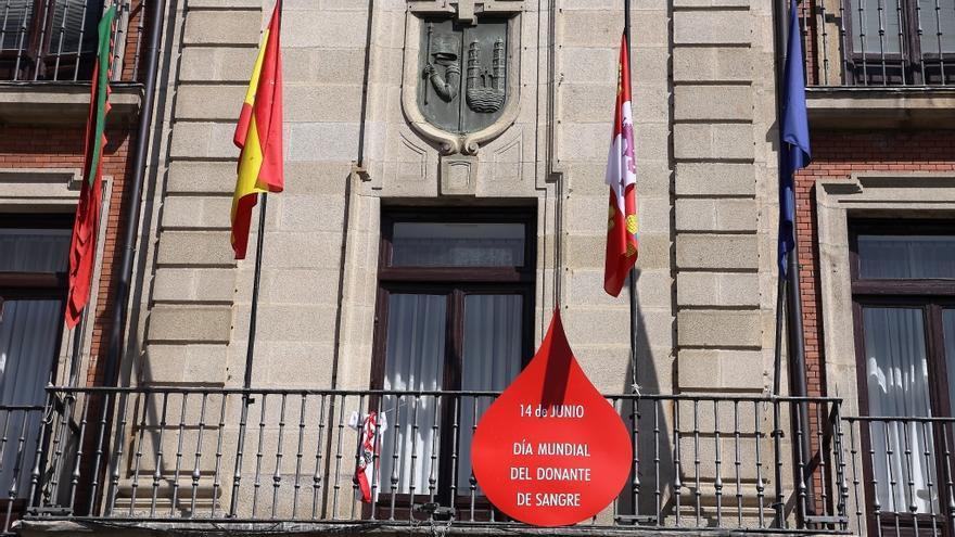 El Ayuntamiento de Zamora se une al Día del Donante de Sangre