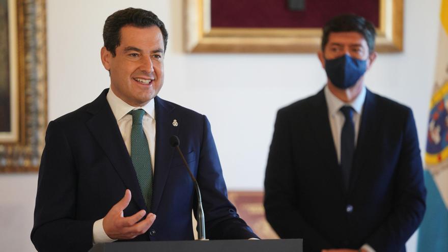 PP y Cs reafirman su acuerdo de gobierno en Andalucía y se comprometen a no aceptar trasvase de cargos