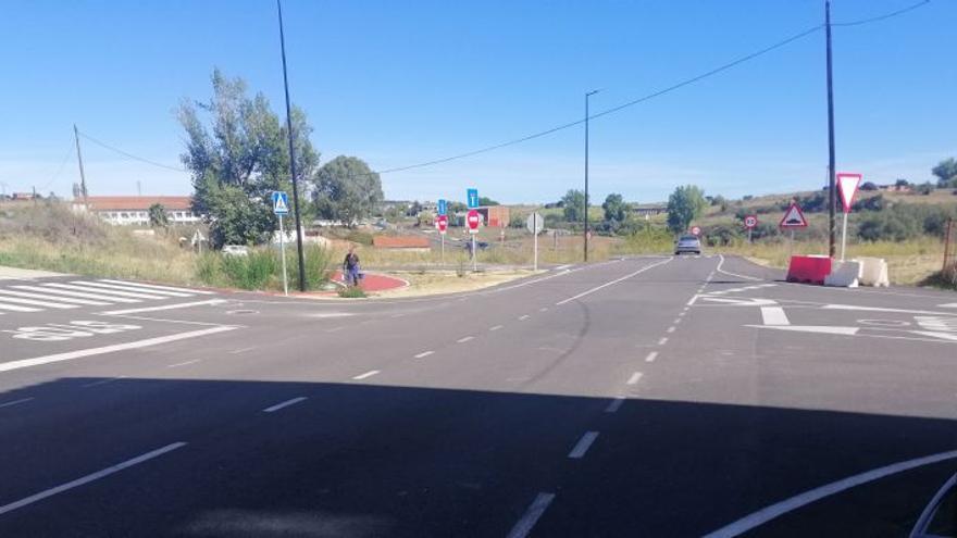 El proyecto de la rotonda de la calle Brasil en Coria lleva a expropiar 1.326 metros de suelo de particulares