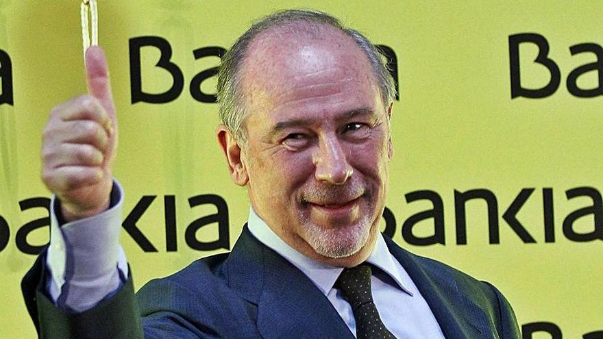 La Audiencia avala  la salida a Bolsa  de Bankia y absuelve a Rato y Olivas