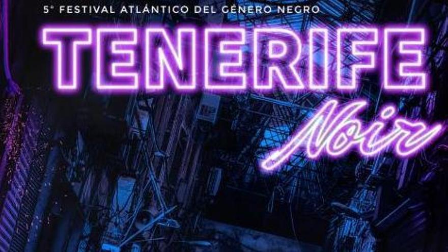 Cartel de Tenerife Noir Otoño. | | E.D.